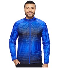 Brooks Lsd Jacket Cobalt Black Verge Men's Coat Blue