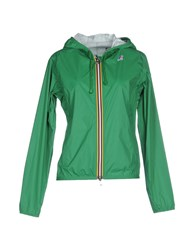 K Way Coats And Jackets Jackets Women Dark Green