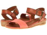 Eric Michael Amanda Orange Women's Sandals