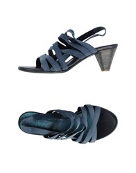 Mortarotti Montenapoleone Footwear Sandals Women Pastel Blue