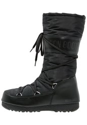 Moon Boot Laceup Boots Black