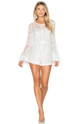 Minkpink Sweetest Sound Romper White