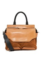 Rag And Bone Pilot Satchel Tan
