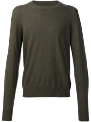 Maison Martin Margiela Crew Neck Jumper Green