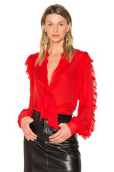 Gm Studio The Star Blouse Red