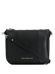 Emporio Armani Large Shoulder Bag Black