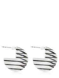 Philippe Audibert Donan Earrings Silver