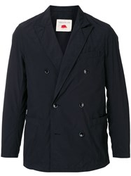 Tomorrowland Fitted Double Breasted Jacket Blue