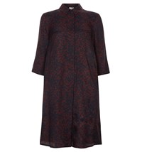 Hobbs Petal Leaf Tunic Wine