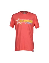 Hollywood Milano T Shirts Fuchsia