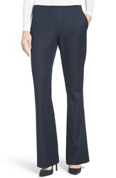 T Tahari Women's Kiera Denim Flare Leg Pants