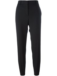 Paul Smith Cropped Tailored Trousers Black