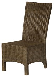 Barlow Tyrie Savannah Woven Dining Side Chair Beige