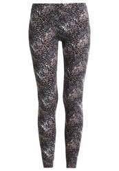 Venice Beach Zurine Tights Animal Grey