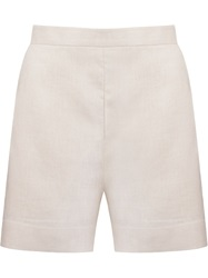 Andrea Marques High Waisted Short Nude And Neutrals