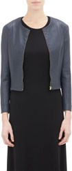The Row Collarless Stanta Jacket Colorless