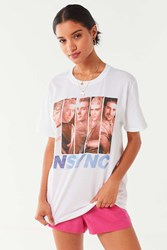 Urban Outfitters Nsync Vintage Wash Tee White