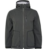 Snow Peak Packable Waterproof Shell Jacket Gray