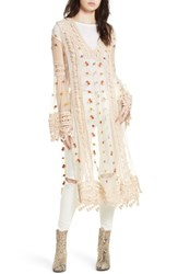 Free People Women's Finest Heart Lace Maxi Tunic