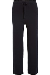 Chinti And Parker Cashmere Track Pants Midnight Blue