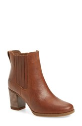 Timberland Women's 'Atlantic Heights' Chelsea Boot Medium Brown Leather