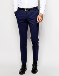 Noose And Monkey Suit Trousers In Skinny Fit Navy