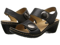 Softspots Pamela Black Calf Ionic Women's Sandals