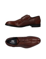 Fabiano Ricci Lace Up Shoes Brown
