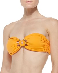 Camilla And Marc Camilla And Marc Tribal Muse Beaded Bandeau Top Tangerine