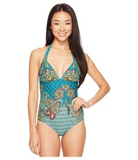 Prana Lahari One Piece Dragonfly Fleur D'amour Women's Swimsuits One Piece Multi