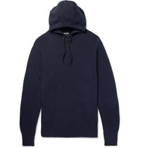 Tom Ford Cashmere Hoodie Navy