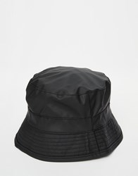Rains Bucket Hat Black