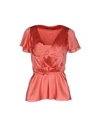 Cristinaeffe Collection Shirts Blouses Women Coral