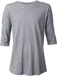 Chapter Dropped Shoulders T Shirt Grey