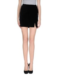 Antipodium Mini Skirts Black