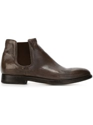 Alberto Fasciani 'Cheope' Ankle Boots Grey