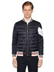 Moncler Gamme Bleu Quilted Nylon Down Jacket