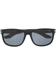 Fila Rectangular Frame Sunglasses Black