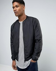 Only And Sons Lightweight Bomber Jacket Black