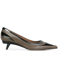 Marni Sculpted Heel Pumps Black
