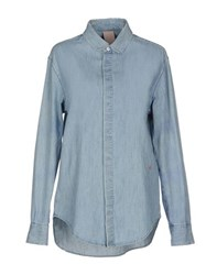 People Denim Denim Shirts Women