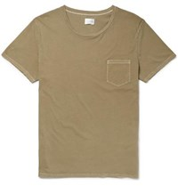 Gant Rugger Cotton Jersey T Shirt Army Green
