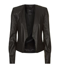 Set Leather Jacket Female Black