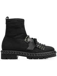 Kennel Schmenger And Round Studded Boots Black
