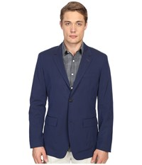 Jack Spade Light Weight Cotton Blazer Insignia Blue Men's Jacket
