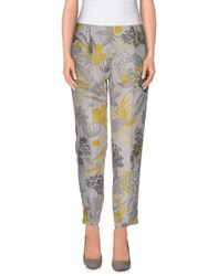 Marella Trousers Casual Trousers Women Light Grey