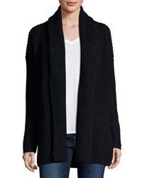 Vince Shawl Collar Open Front Cardigan Coastal