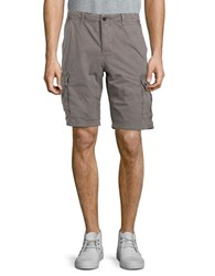 Lucky Brand Cotton Six Pocket Shorts Charcoal