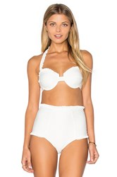 For Love And Lemons St. Lucia Bikini Top Ivory