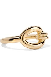 Elizabeth And James Kadin Gold Tone Ring 7
